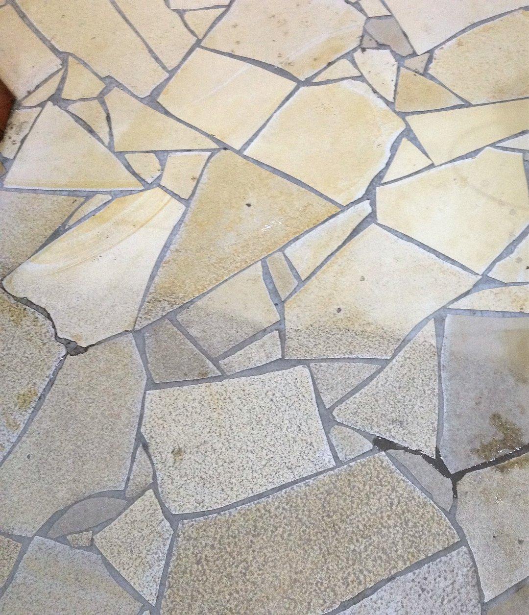 Szálloda kőburkolat takarítás Rotowash súroló géppel
