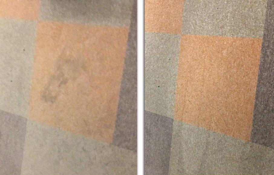 Fitness szőnyegfelület takarítás Rotowash szőnyegtisztító berendezéssel