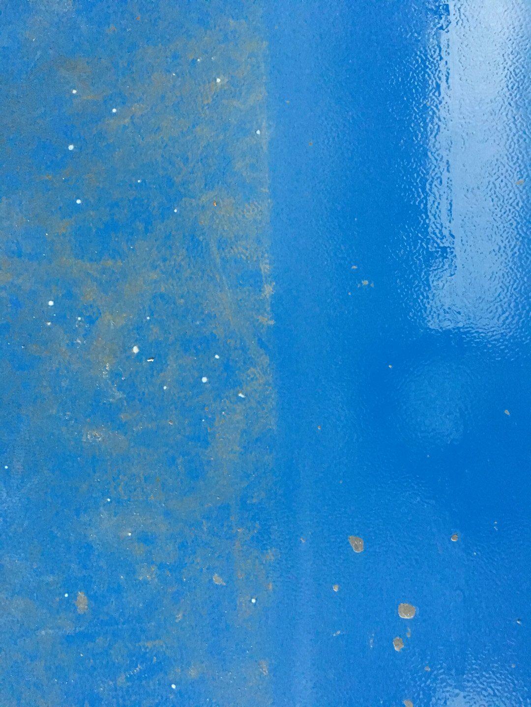 Sportpadló takarítás tiszta vízzel Rotowash ipari padlótisztító berendezéssel