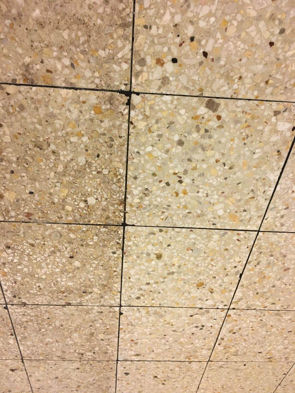 Cement mozaiklap súrolás Rotowash takarítógéppel