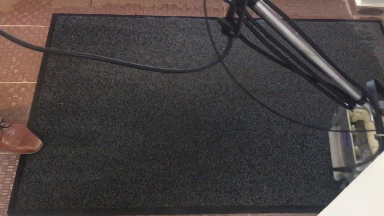 Belépő szőnyeg takarítás Rotowash szőnyegtisztító géppel